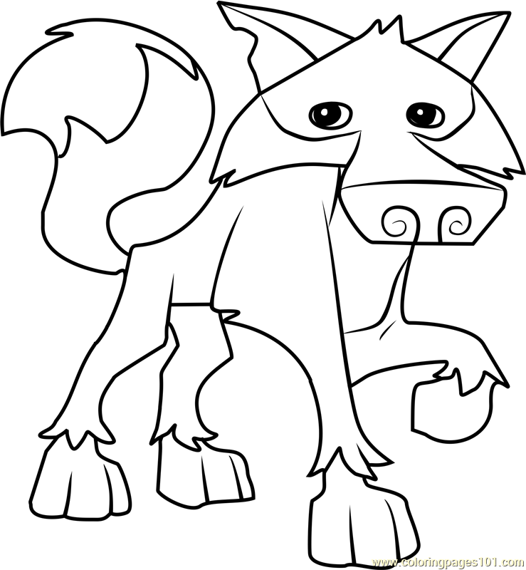 - Animal Jam Coloring Pages – Coloring.rocks!