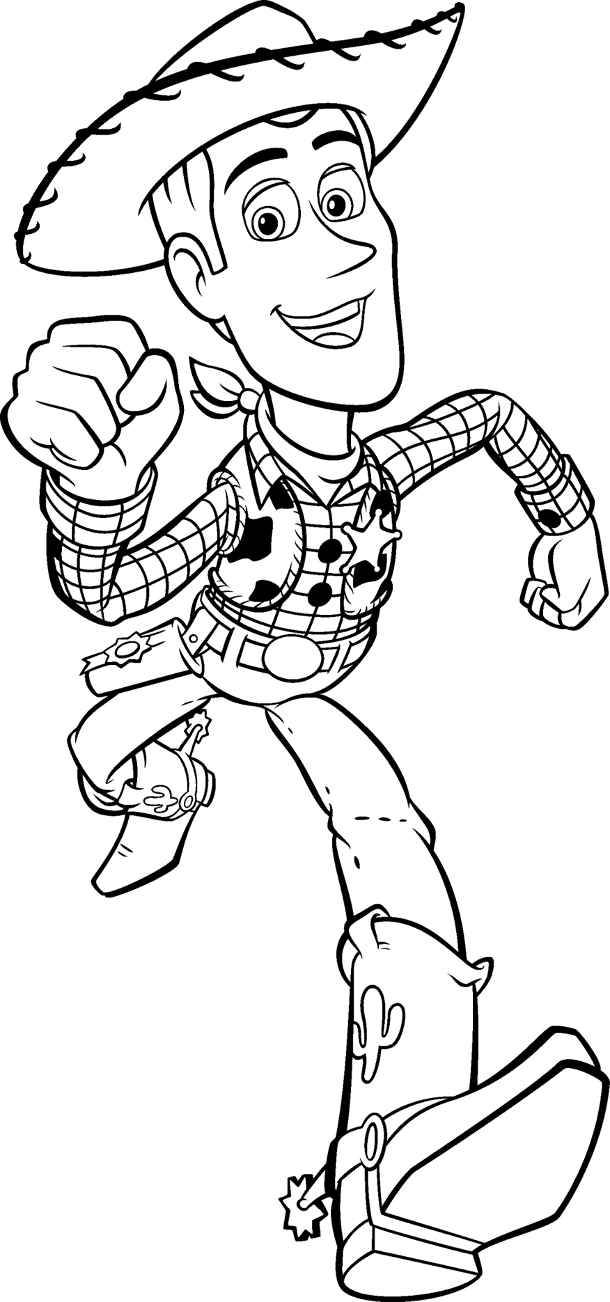 Woody Toy Story Coloring Pages