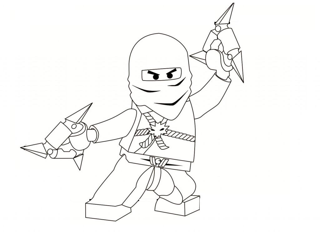 Lego Ninjago Coloring Pages coloringrocks