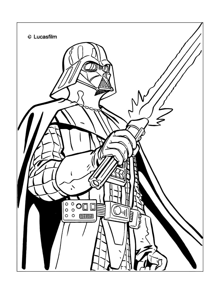 Star Wars Coloring Pages coloringrocks