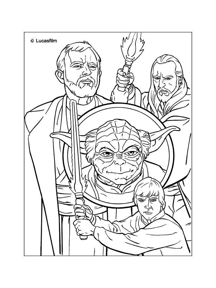 Star Wars Coloring Pages! – Coloring.rocks!