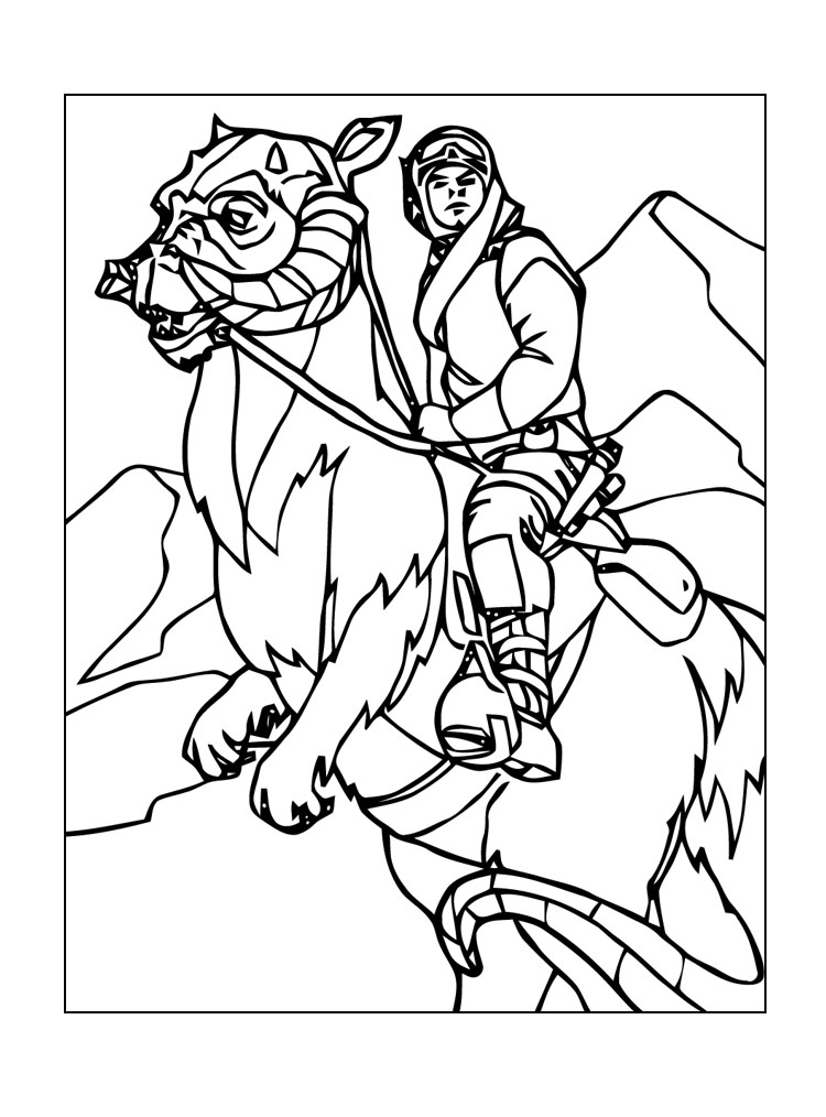 free star wars coloring pages