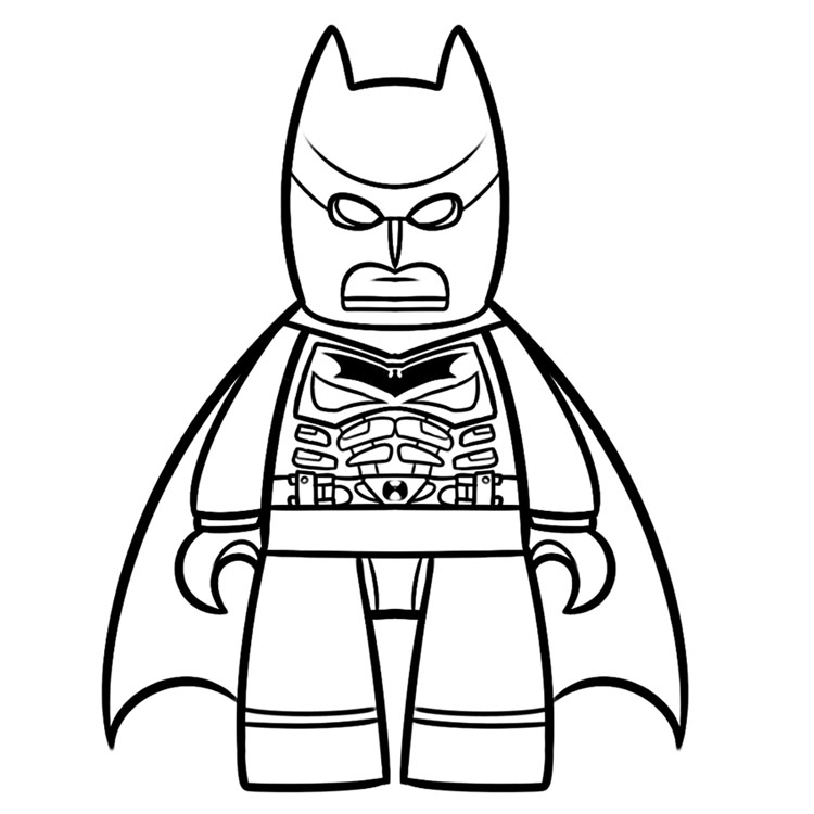 lego batman printable coloring pages