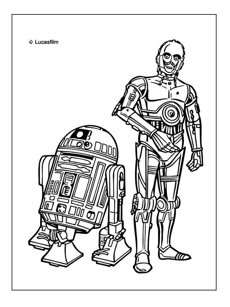 Star Wars Coloring Pages ⋆ Coloring Rocks